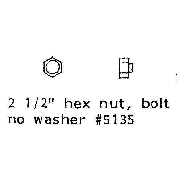 ワッシャー無し ボルトナット :グラントライン 未塗装キット(部品) HO(1/87) 5135