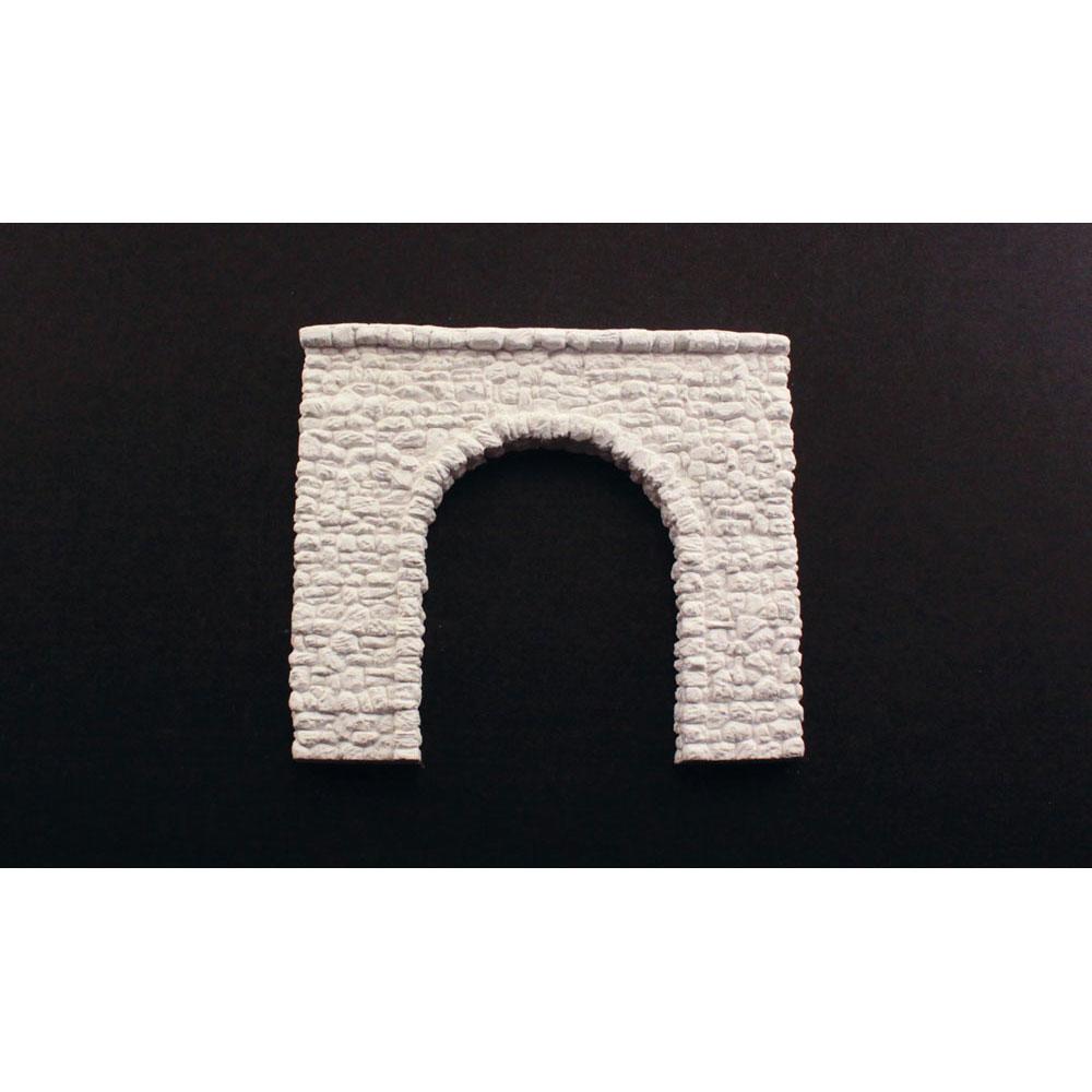 トンネルポータル :ウッドランド 未塗装キット HO(1/87) C1255