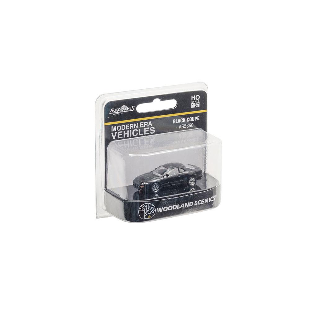 【模型】 クーペ(ブラック) :ウッドランド 塗装済完成品 HO(1/87) AS5360