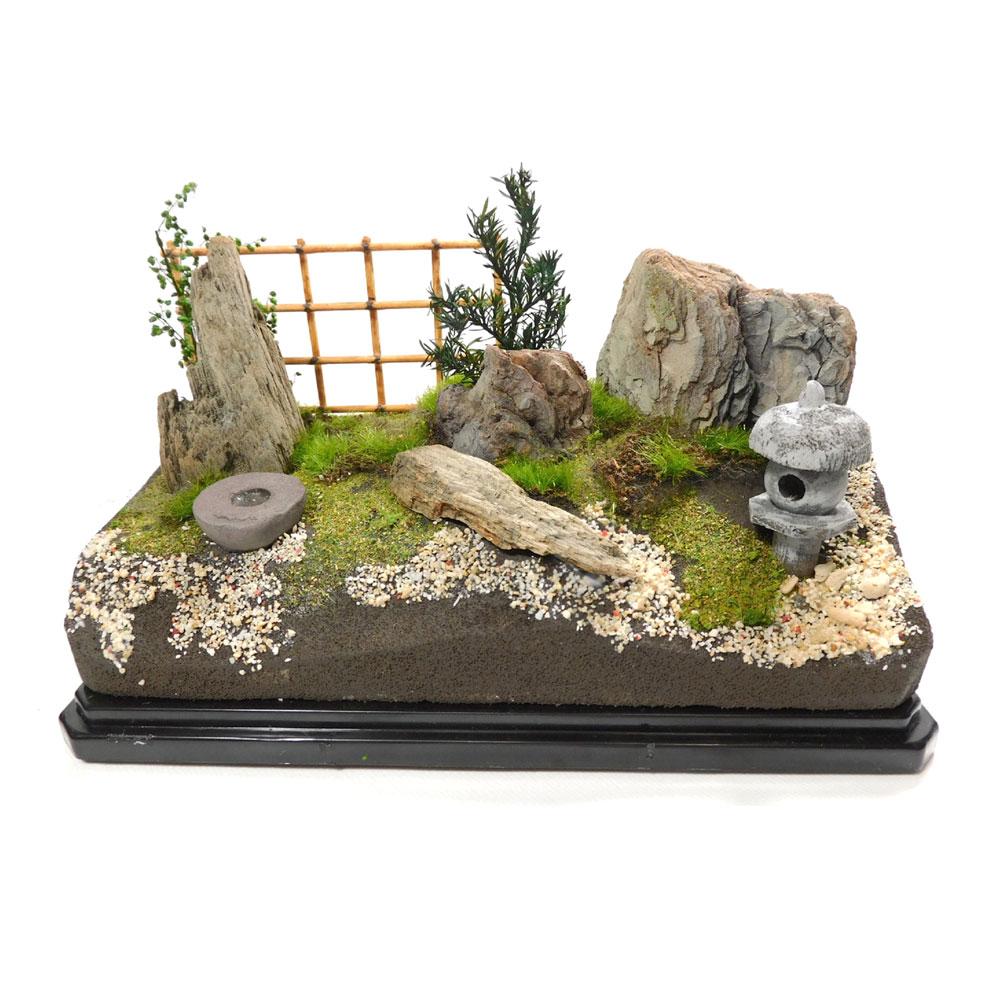 ジオラマキット 日本庭園 :さかつうギャラリー 初心者向け製作キット 入門用 3601