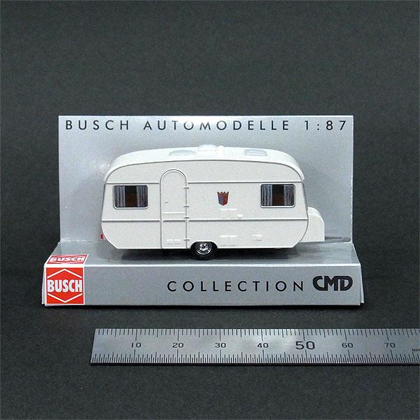 タバート キャンピングトレーラー(モーターホーム、トレーラーハウス) :ブッシュ 塗装済完成品 HO(1/87) 44960