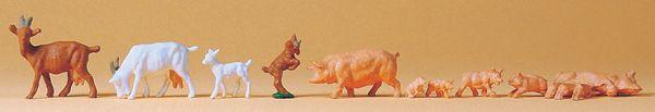 ヤギと豚 :プライザー 塗装済完成品 HO(1/87) 14162