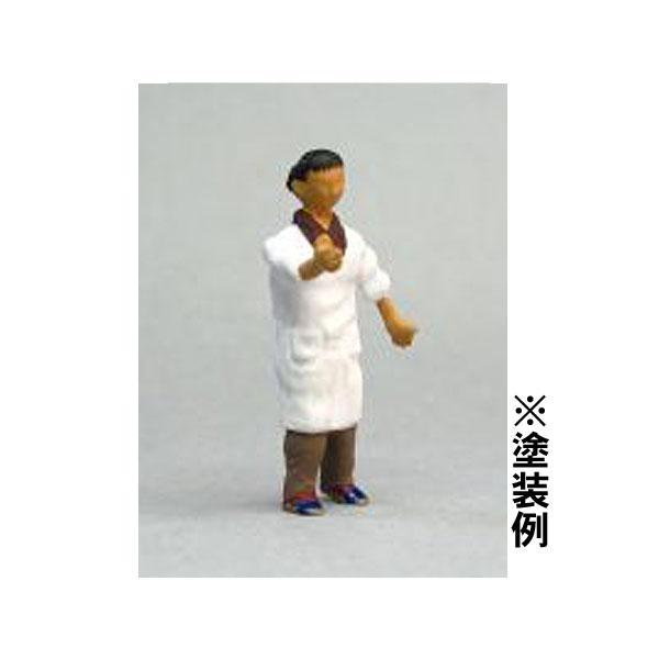 Oゲージフィギュア 女性B :モリタ 未塗装キット 1/45スケール  No.917