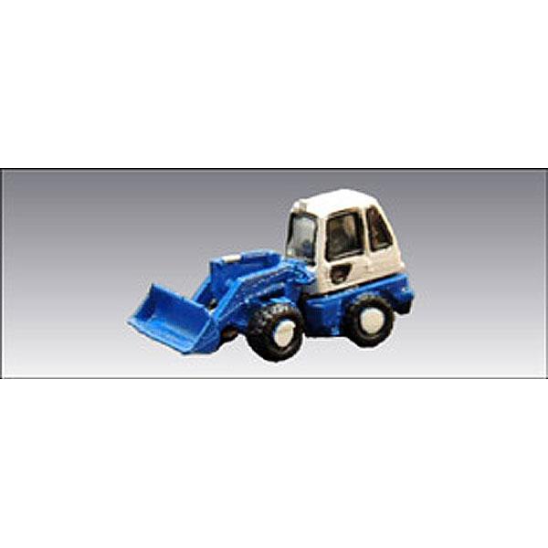 小型ホイールローダー 1 ・ 青 :アイコム 塗装済完成品 N(1/150) MLV-6015