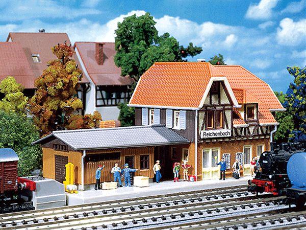 ライヒェンバッハ駅 :ファーラー 未塗装キット N(1/160) 212104