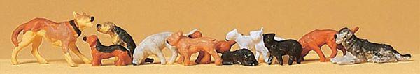 犬と猫 :プライザー 塗装済完成品 HO(1/87) 14165