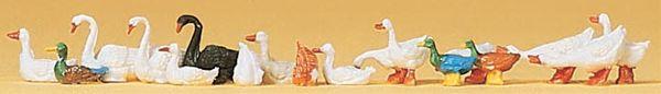 アヒルと鴨と白鳥 :プライザー 塗装済完成品 HO(1/87) 14167