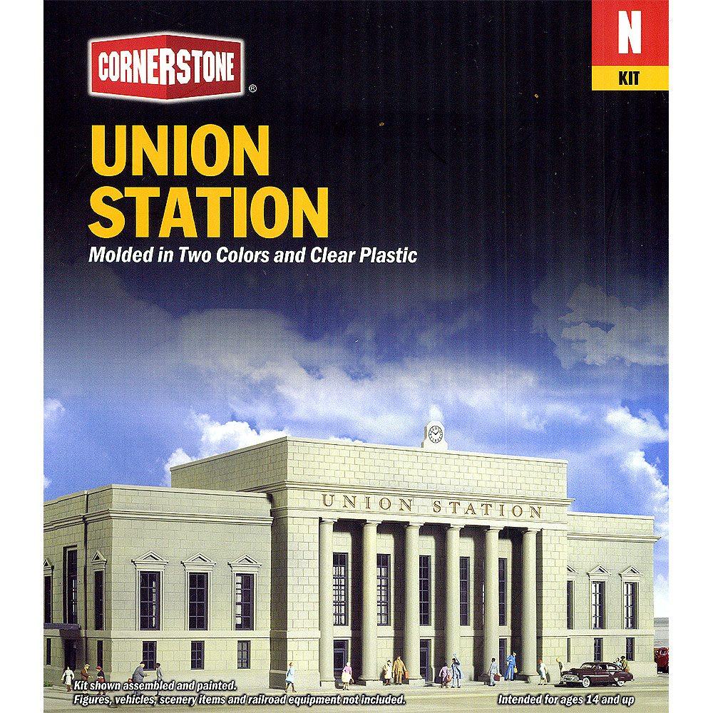 ユニオン駅 :ウォルサーズ 未塗装キット N(1/160) 3257