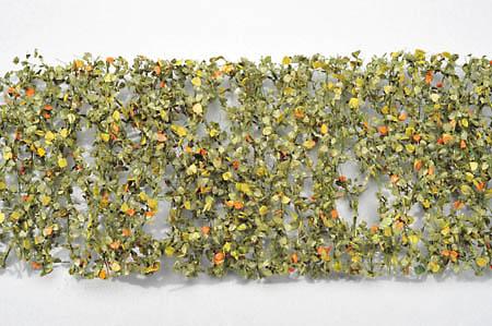 白樺の枝葉(1:45+)-秋の訪れ :ミニネイチャー 素材 ノンスケール 910-33