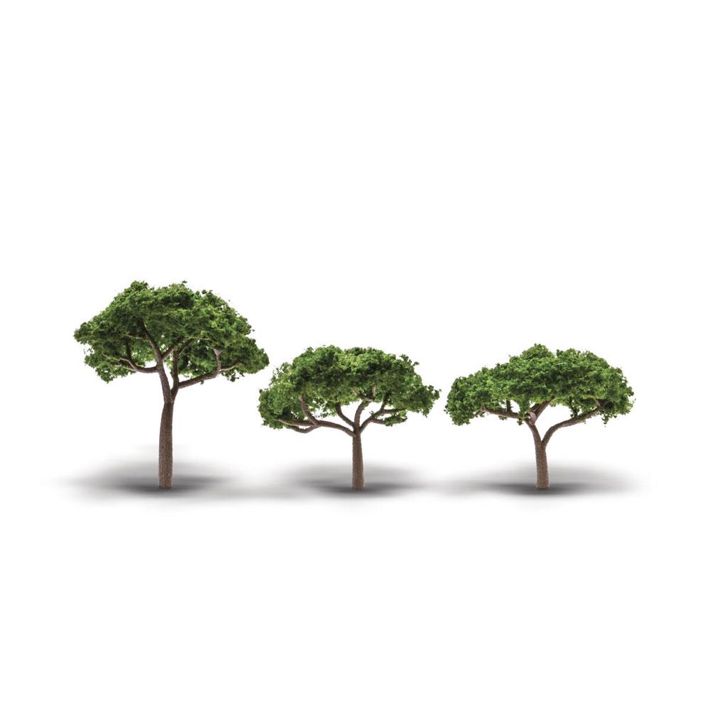 パイン(松の木) 5.1〜8.9cm 3本入り :ウッドランド 完成品 ノンスケール TR3555