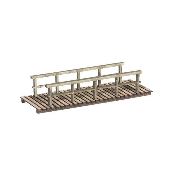 小さな木橋 :ノッホ 組み立てキット N(1/160) 14620