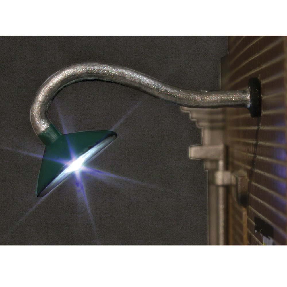LED付き街路灯 壁用外灯 笠タイプ Oサイズ 2個セット JP5662 :ウッドランド 塗装済み完成品 O(1/48) Just Plug対応
