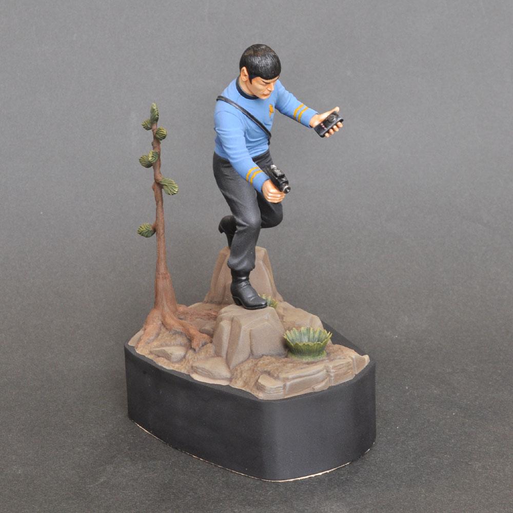 The Vulcan First Officer Mr.Spock from STAR TREK (ミスター・スポック) :淺木紳士郎 塗装済完成品 ノンスケール