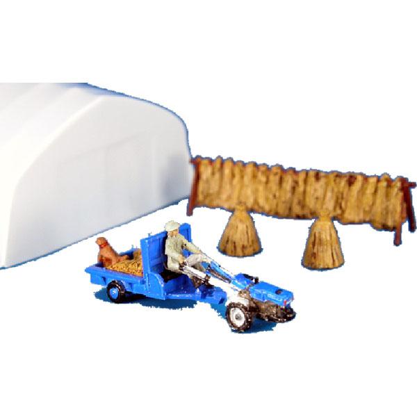 耕運機・収穫 :アイコム 塗装済完成品 N(1/150) MLW-3001