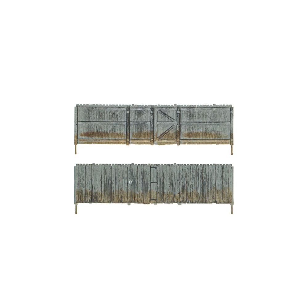 【模型】 プライベートフェンス :ウッドランド 塗装済完成品 N(1/160) A2995