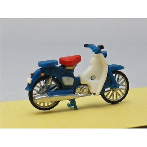 ホンダ・スーパーカブ 青 スタンダード :エコーモデル 塗装済完成品 HO(1/80) 5011
