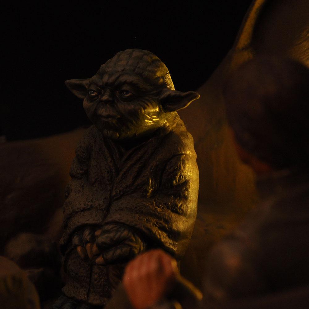 ENCOUNTER WITH YODA ON DAGOBAH ダゴバの出会い エピソード5 帝国の逆襲 :淺木紳士郎 塗装済完成品 ノンスケール