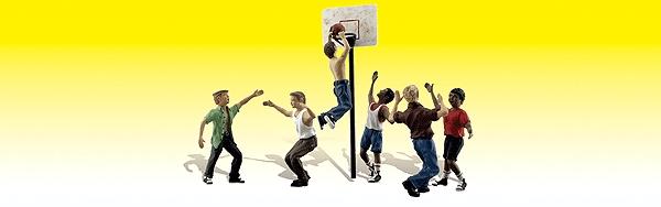 ストリート・バスケット・ボール :ウッドランド 塗装済完成品 N(1/160) 2207