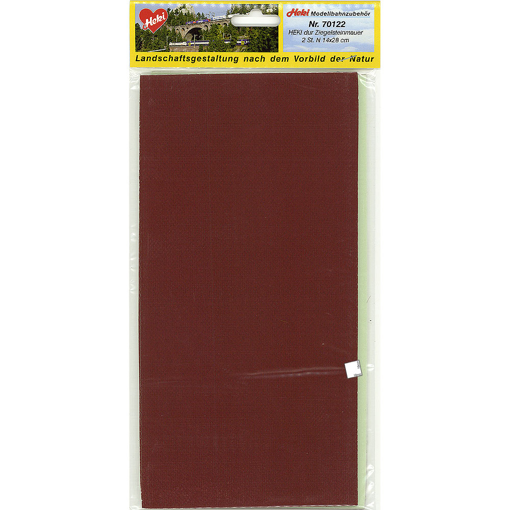 赤レンガシート Nサイズ :ヘキ 塗装済素材 N(1/160) 70122