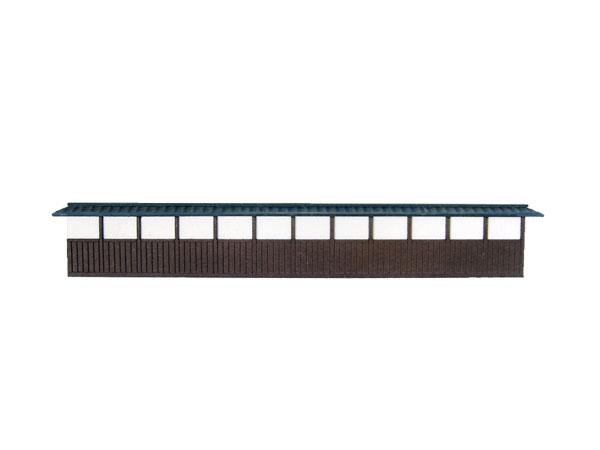 塀E(土塀) :さんけい キット N(1/150) MP04-30
