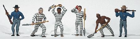囚人 :ウッドランド 塗装済完成品 HO(1/87) 1858