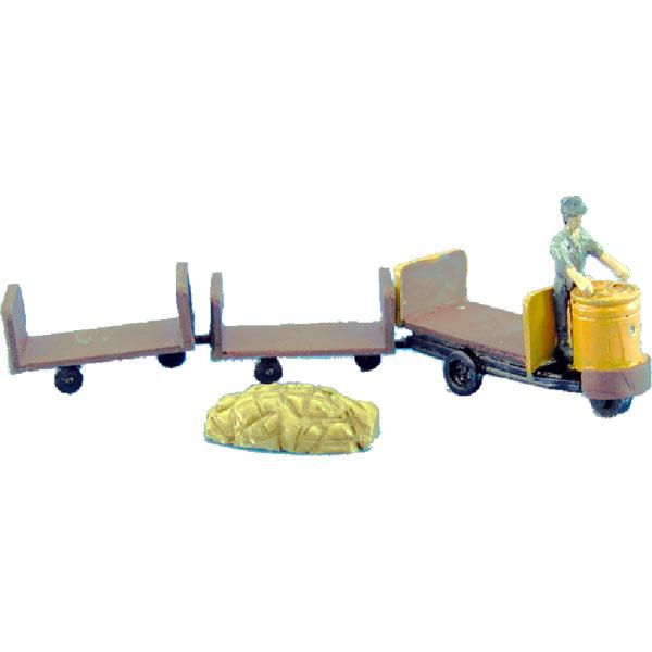 ターレット車・丸目 :アイコム 塗装済完成品 N(1/150) MLW-3004