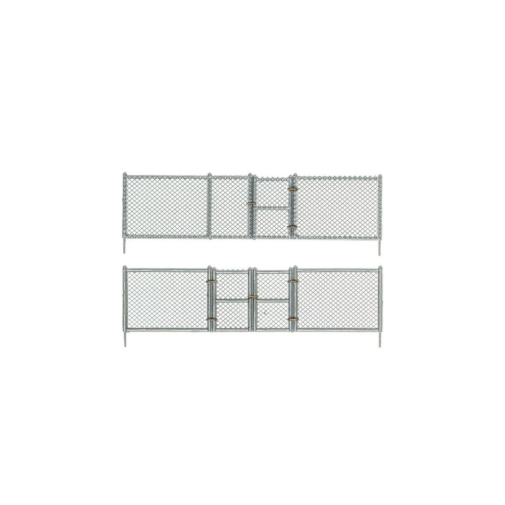 【模型】 金網のフェンス :ウッドランド 塗装済完成品 N(1/160) A2993