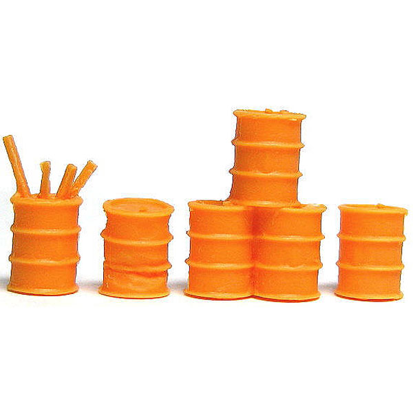ドラム缶(橙) :YSK 未塗装キット N(1/150) 品番215
