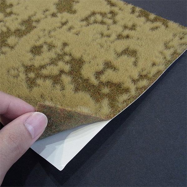【芝生フィルム】 秋の草むら 2色混合 :ブッシュ 素材 HO(1/87) 1305