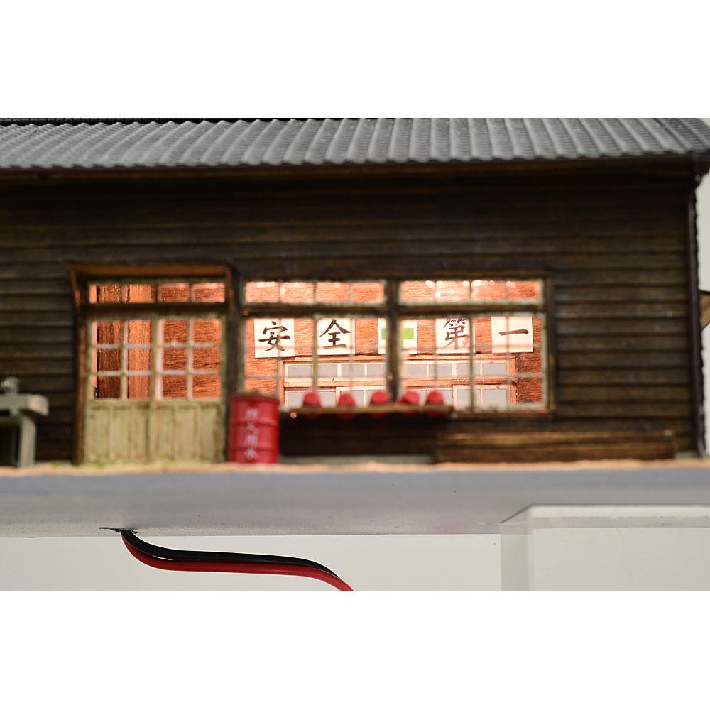 とれいん掲載大型蒸気を待つ詰所 :匠ジオラマ工芸舎 塗装済完成品 HO(1/80) 1045