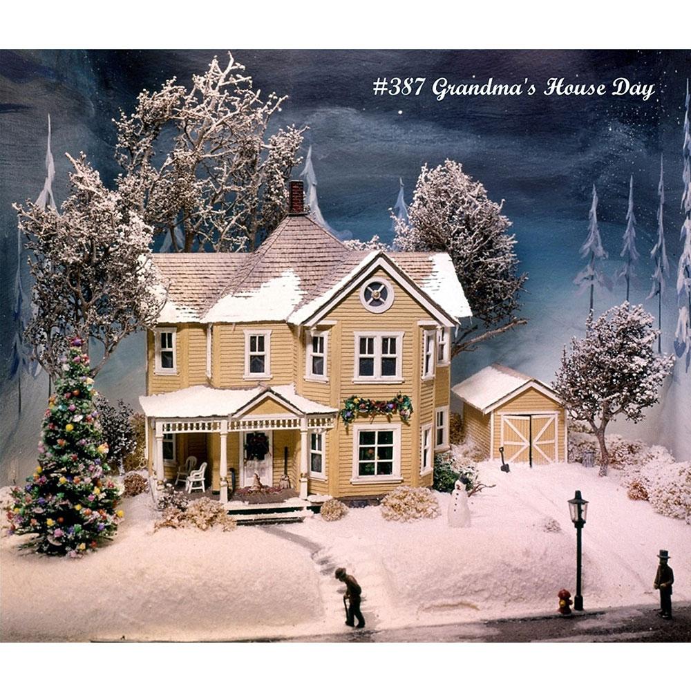 おばあちゃんの家(Gran'ma's house) :キャンベル 未塗装キット HO(1/87) 387