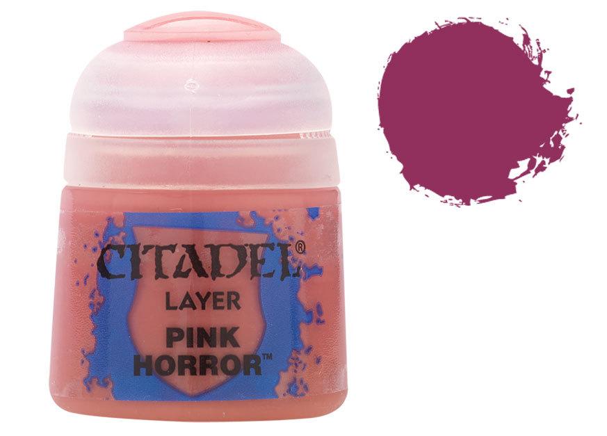 シタデル・レイヤー Pink Horror(ピンク・ホラー) :ゲームズワークショップ つや消し塗料 22-69
