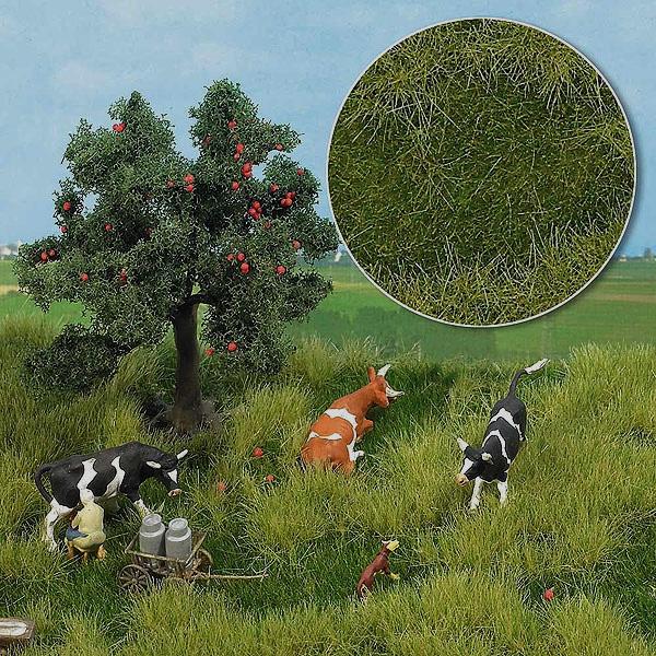 【芝生フィルム】 初夏の草むら 2色混合 :ブッシュ 素材 HO(1/87) 1306