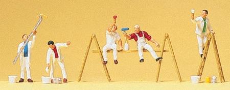 ペンキ屋さんと脚立などの小物 :プライザー 塗装済完成品 N(1/160) 79177