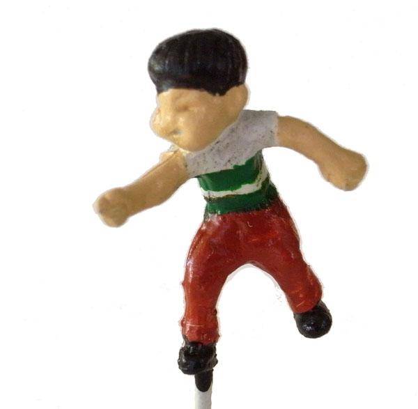 さかつう人形シリーズまなべコレクション ベーゴマ少年A :さかつう 塗装済完成品 HO(1/87) 7512