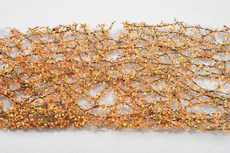 ポプラの枝葉(HO)-秋たけなわ :ミニネイチャー 素材 ノンスケール 913-24