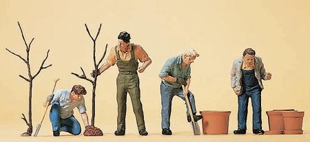 木を植える人達 :プライザー 塗装済完成品 HO(1/87) 10466
