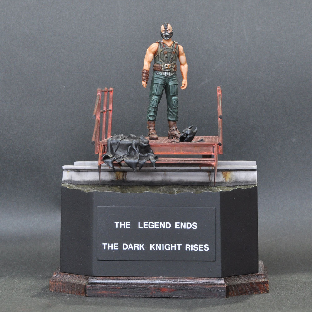 THE LEGEND ENDS THE DARK KNIGHT RISES :淺木紳士郎 塗装済完成品 ノンスケール