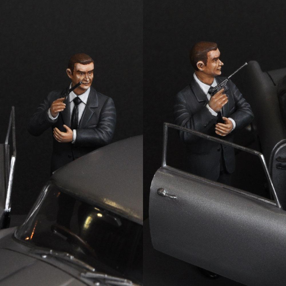 THE JAMES BOND 007 THRILLER GOLDFINGER(ゴールドフィンガー) :淺木紳士郎 塗装済完成品 1/24