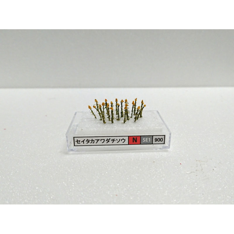 【模型】 セイタカアワダチソウ(N) 約1〜1.5cm :木草BUNKO N(1/150) SE1