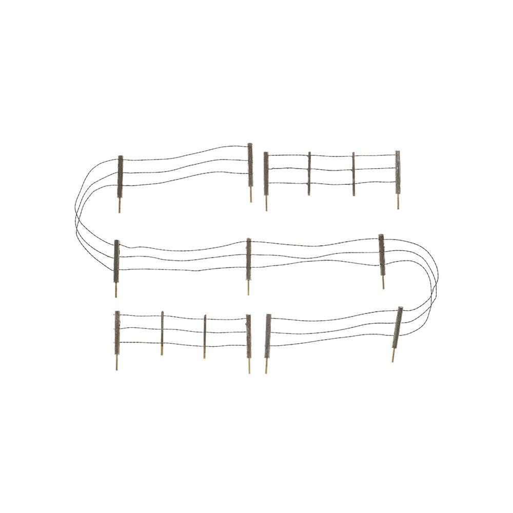 【模型】 有刺鉄線のフェンス :ウッドランド 塗装済完成品 N(1/160) A2990