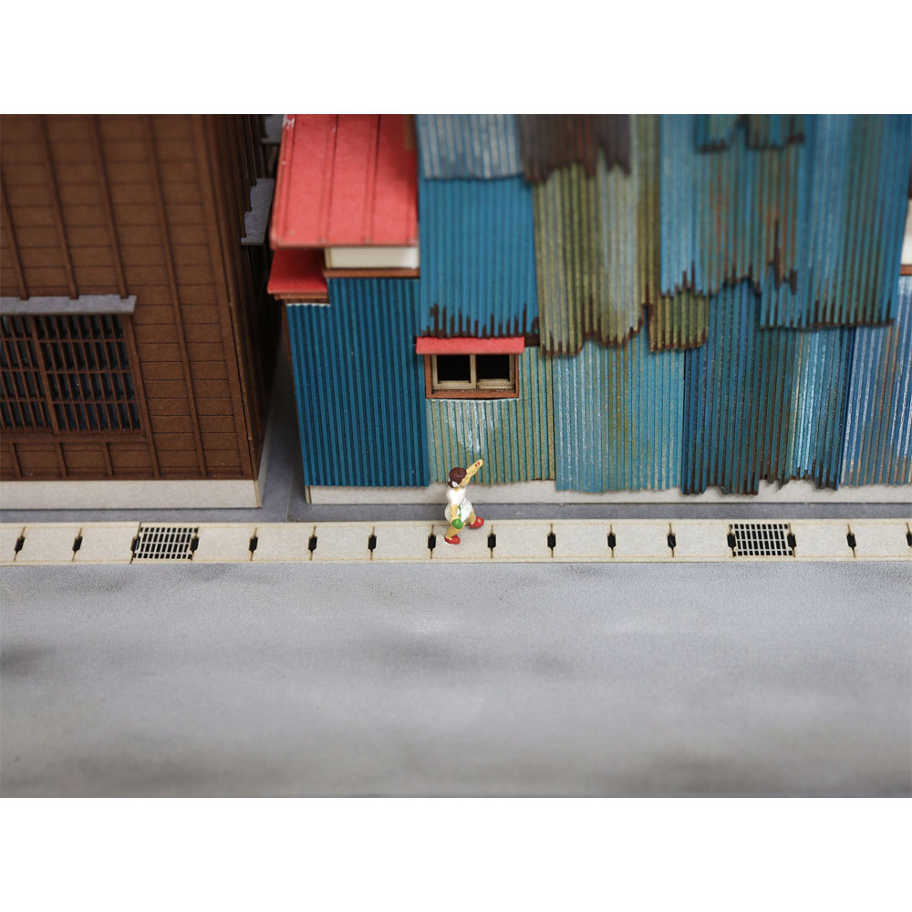 側溝の蓋 :梅桜堂 HO(1/80) 塗装済みキット AC-016-80C