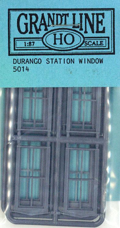 窓 洋風 駅の窓  :グラントライン 未塗装キット(部品) HO(1/87) 5014