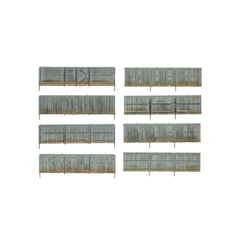 【模型】 プライベートフェンス :ウッドランド 塗装済完成品 HO(1/87) A2985