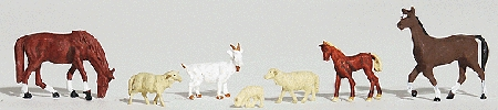 家畜 :ウッドランド 塗装済完成品 HO(1/87) 1844