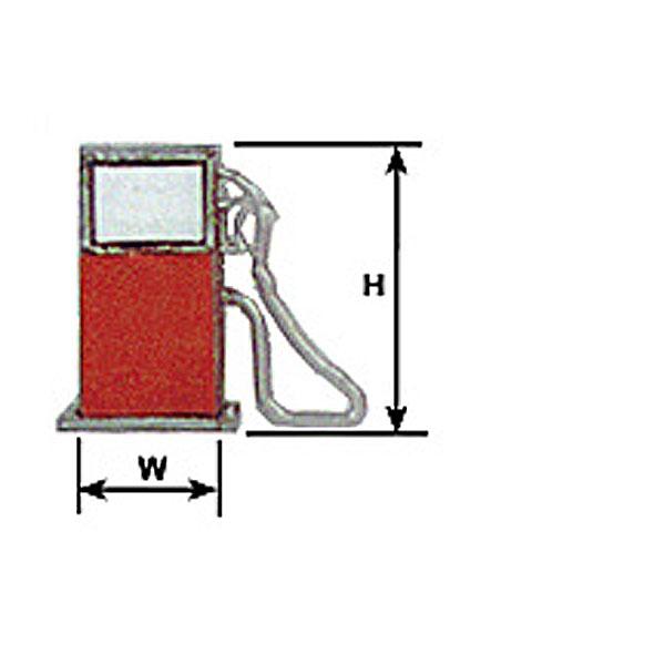 ガソリンポンプ :プラストラクト プラ材 ノンスケール 94872