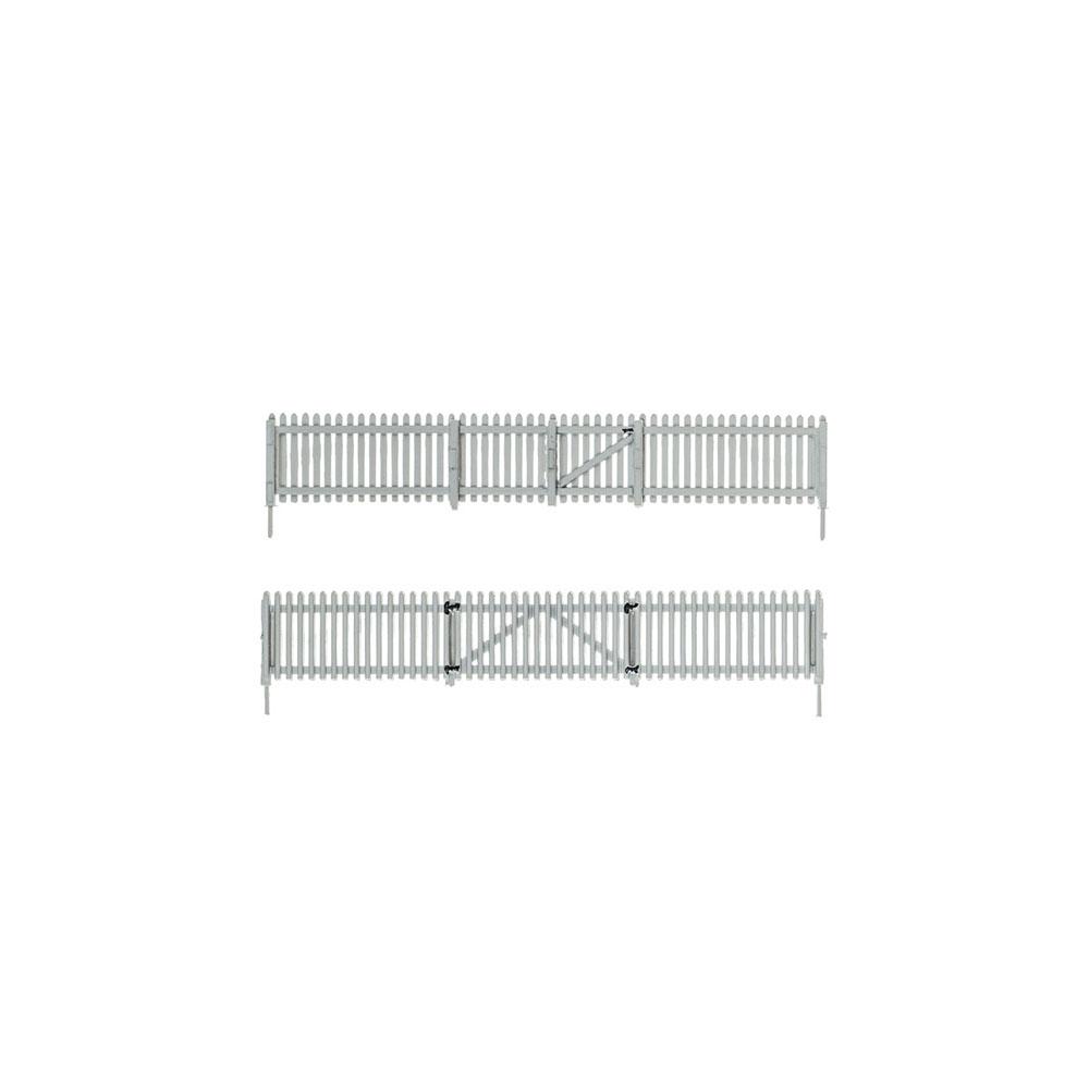 【模型】 杭のフェンス :ウッドランド 塗装済完成品 HO(1/87) A2984