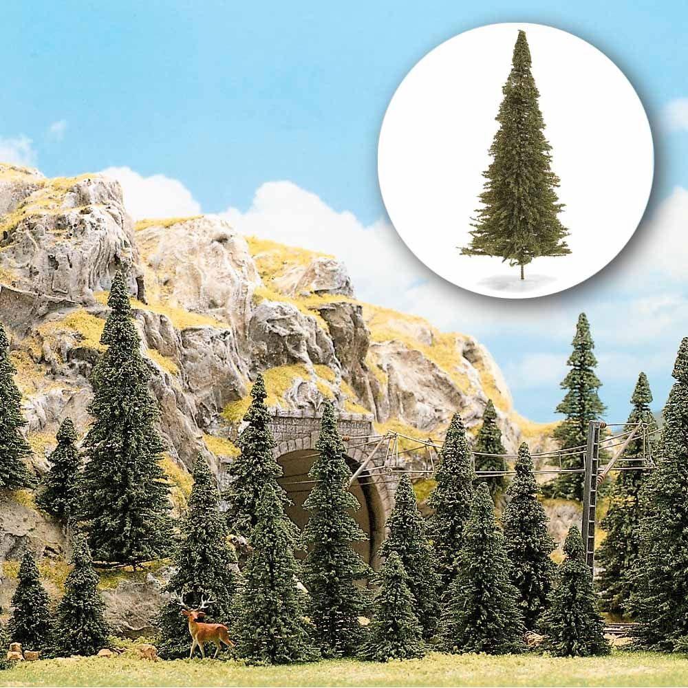 モミの木(針葉樹) 9〜14cm  60本入り :ブッシュ 完成品  6472