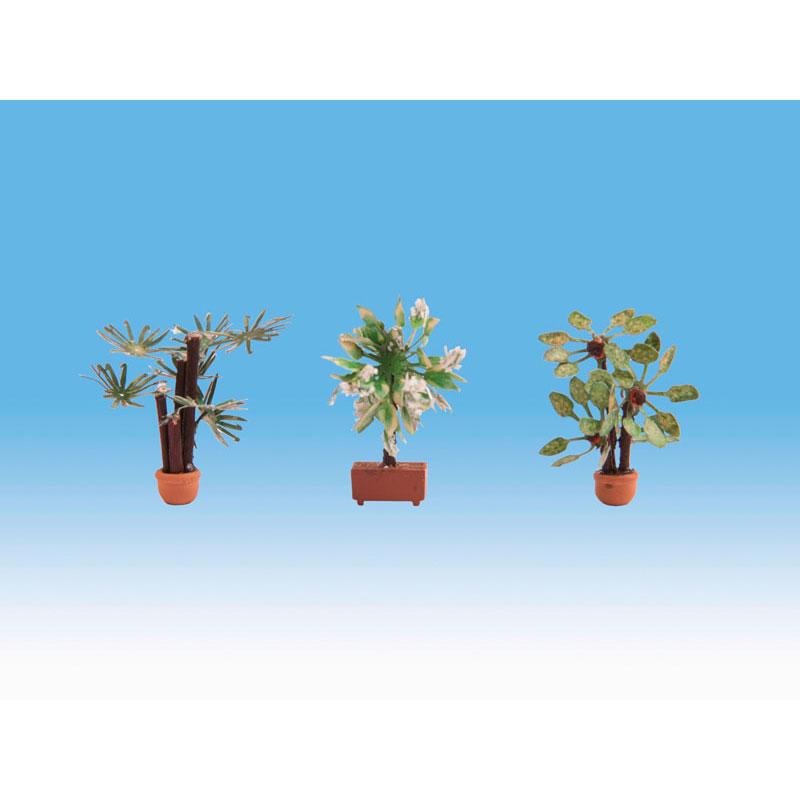 観葉植物 :ノッホ 塗装済完成品 HO(1/87) 14023