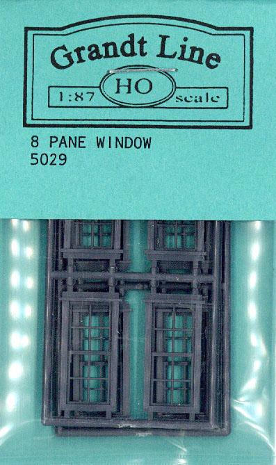 洋風窓 窓枠 :グラントライン 未塗装キット(部品) HO(1/87) 5029